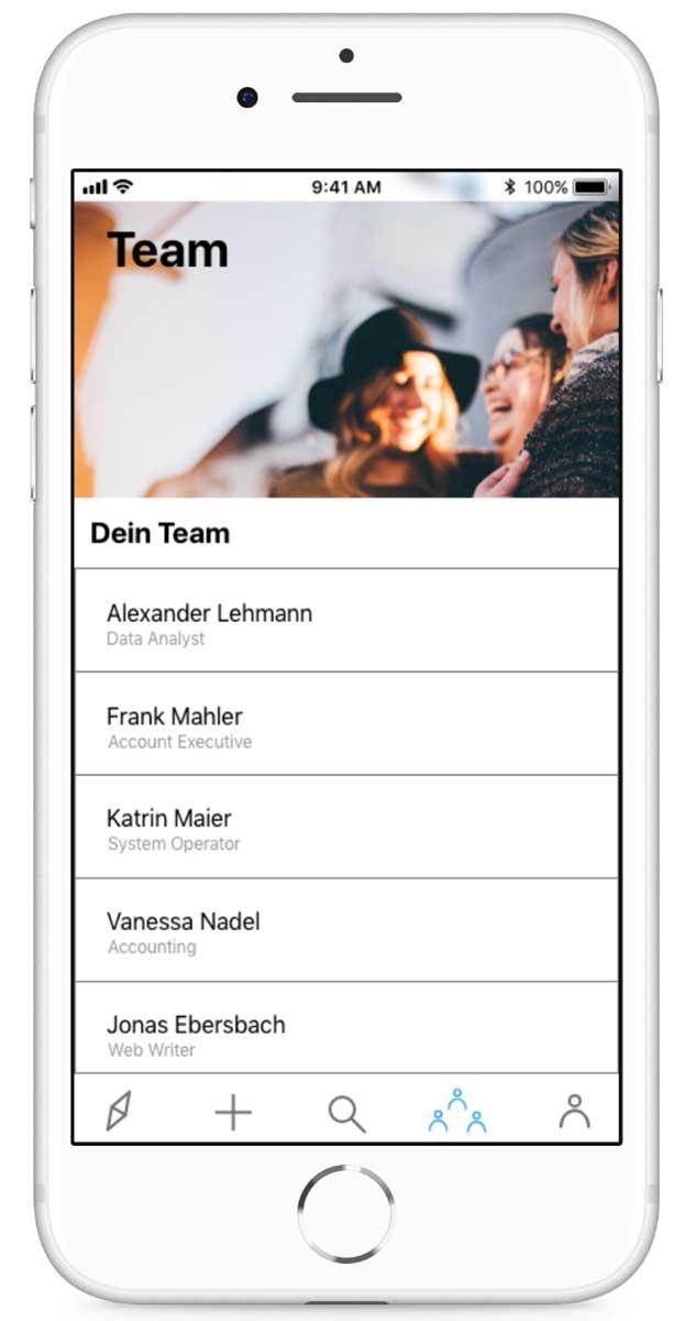 QuizCo Team Organisation Lernteam