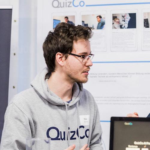 QuizCo Team Maximilian Friedrich Max