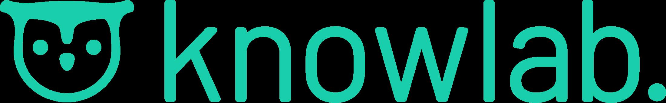 Hochauflösendes knowlab.-Logo