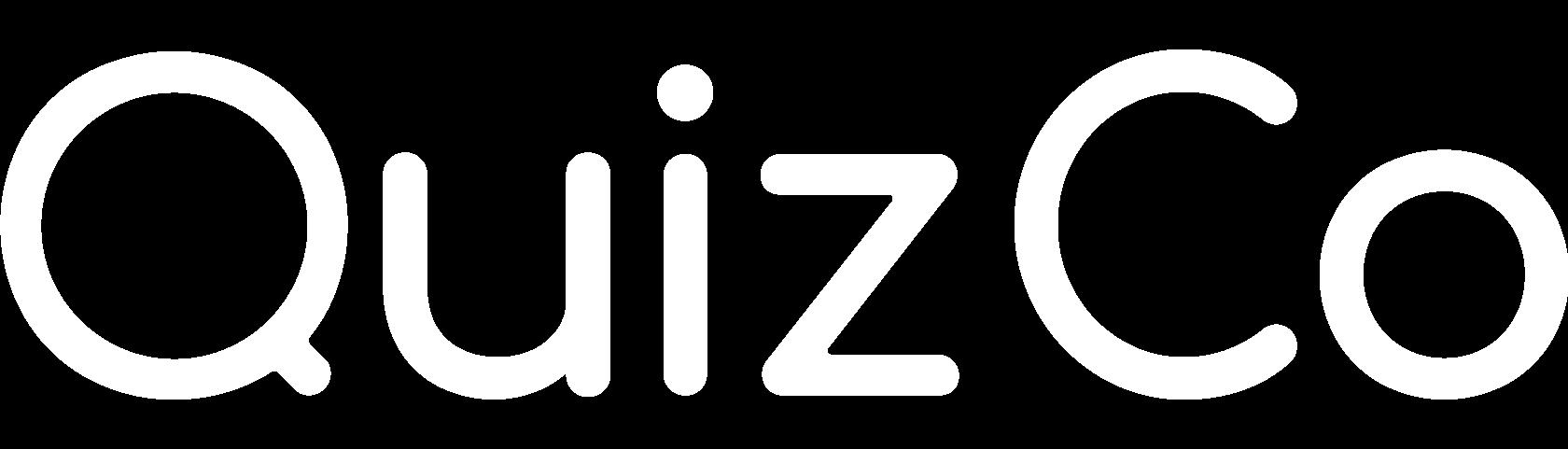 QuizCo Logo weiß