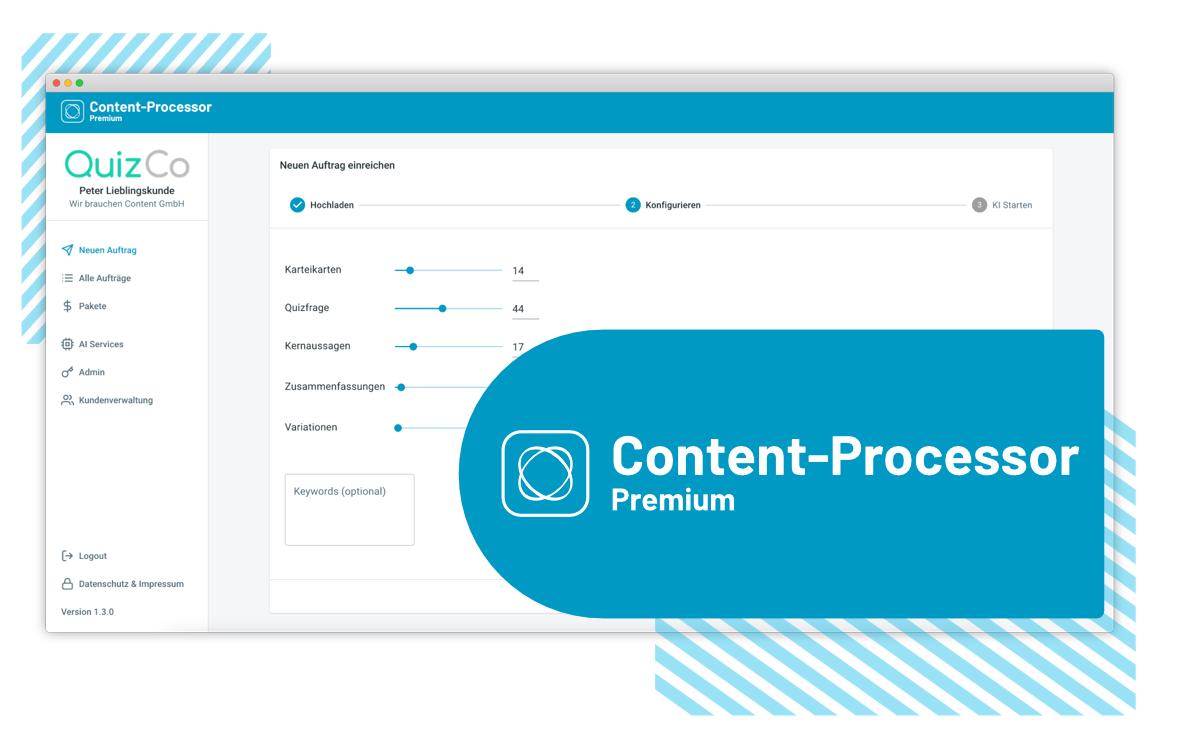 QuizCo Content-Processor