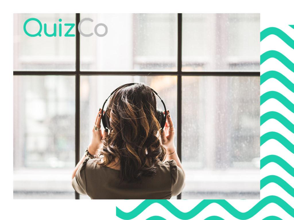 QuizCo Musik bei der Arbeit