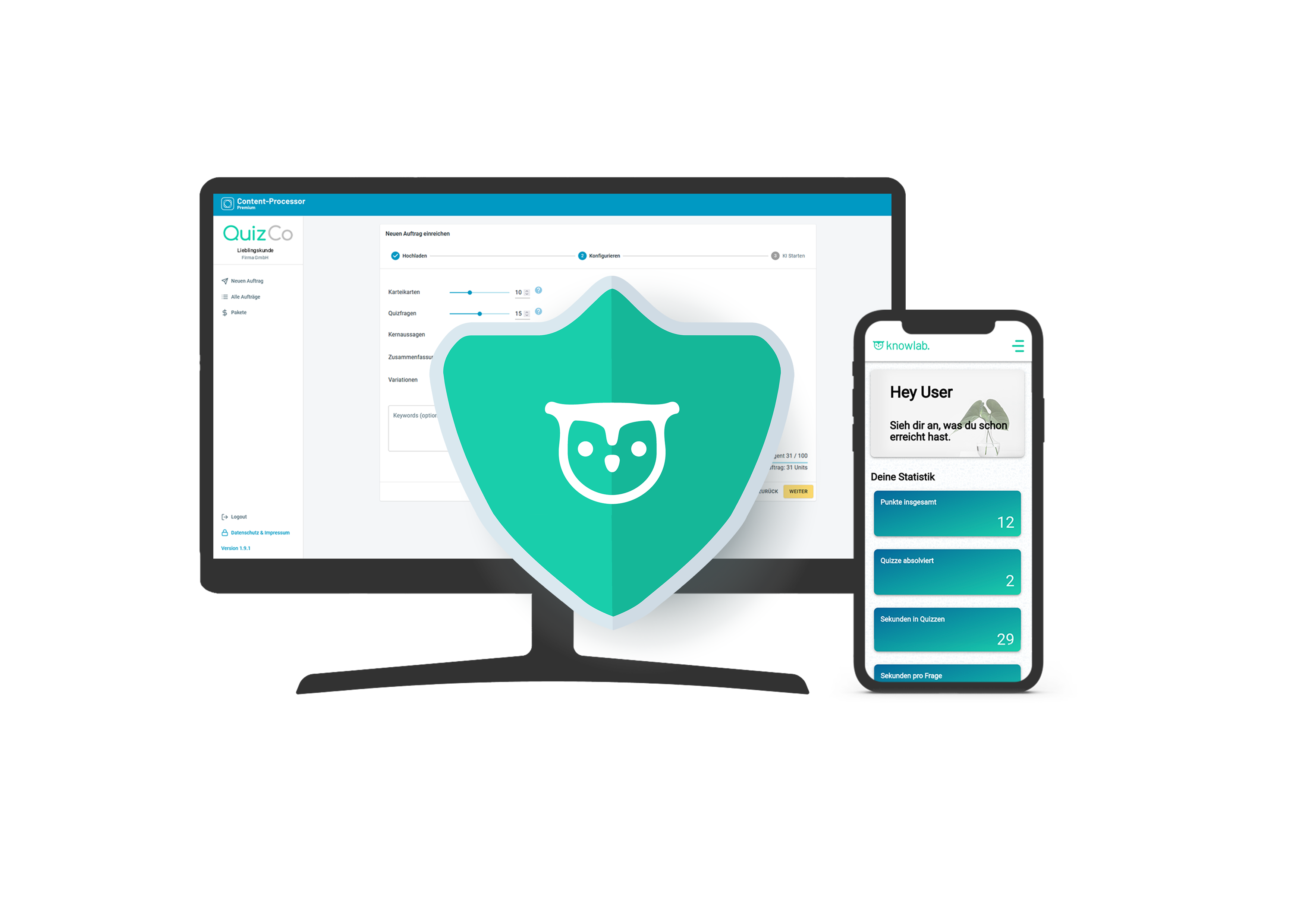 QuizCo Datenschutz
